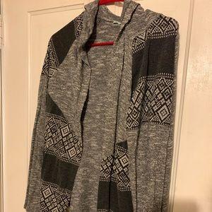 Cardigan/open sweater